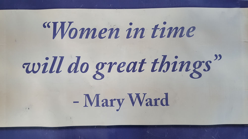 Mary Ward quote