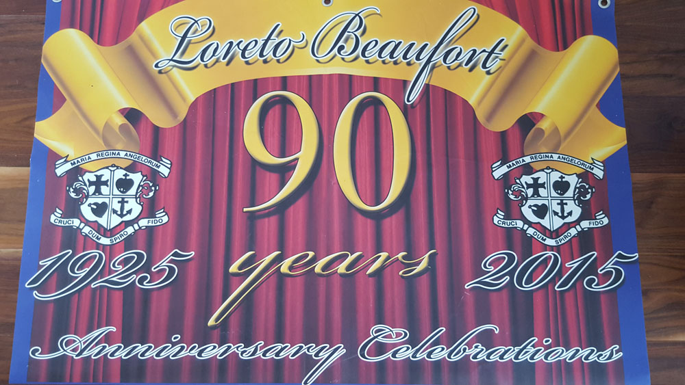 Loreto beaufort 90 years old