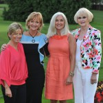 14/9/2012; Olivia Tracey, with, Ann Marie Healy, Marion Shaw and Rosemary Smith pictured at the Loreto Beaufort past pupils reunion. Pic credit: Damien Eagers